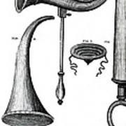 Ear Trumpets Art Print