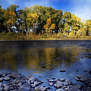 Early Fall At The Headwaters Of The Rio Grande Art Print by Ellen Heaverlo