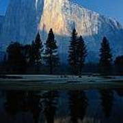 Early Morning View Of El Capitan Art Print