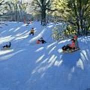 Early Snow Art Print
