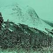 Early Snow In The Mountains  Art Print