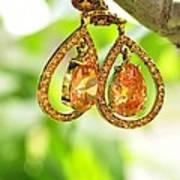 Earrings Art Print