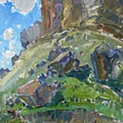 Earth And Sky Art Print