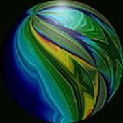 Earth In Motion Art Print