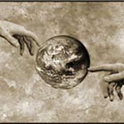 Earth's Creation Art Print by Detlev Van Ravenswaay