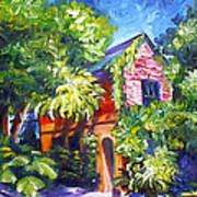 East Bay House In Charleston  Art Print