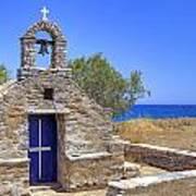 east coast Naxos Art Print