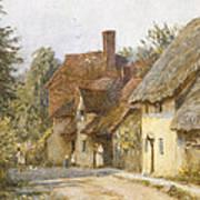 East Hagbourne Berkshire Art Print