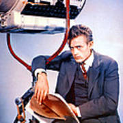 East Of Eden, James Dean, 1955 Art Print by Everett