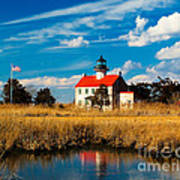 East Point Lighthouse Reflection Art Print