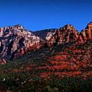 East Sedona Colors Art Print