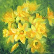 Easter Daffodils Art Print