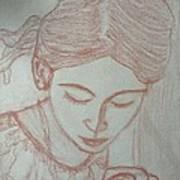 Easter Girl Art Print