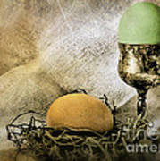 Easter With Patina 2 Art Print