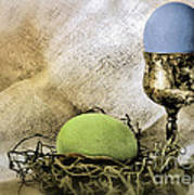 Easter With Patina 6 Art Print