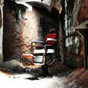 Eastern State Penitentiary - Barber's Chair Art Print