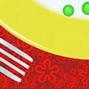 Eat Your Peas Art Print