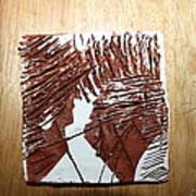 Ed And Ezra - Tile Art Print