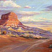 Edge Of The Desert Art Print
