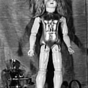Edison: Talking Doll, C1890 Art Print