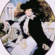 Edith Roosevelt 1861-1948, First Lady Art Print