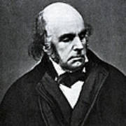 Edward Fitzgerald, English Writer Print by Humanities And Social Sciences Librarynew York Public Library