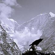 Eerie Himalayas Art Print