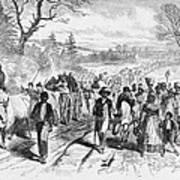 Effects Of Emancipation Proclamation Art Print