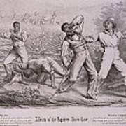Effects Of The Fugitive-slave-law Art Print