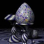 Egg And Goblet Art Print