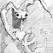 Eggo Bunny Art Print