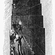 Egypt: Pyramid Interior Art Print
