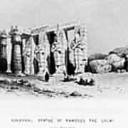 Egypt: Ramesseum Art Print