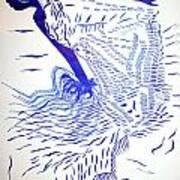 Egyptian Baladi Dance Art Print