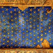 Egyption Night Sky Art Print