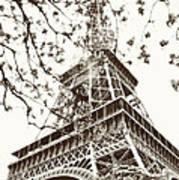 Eiffel Fame Art Print by Linde Townsend
