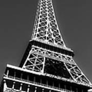 Eiffel Tower Vegas Style Print by Leslie Leda