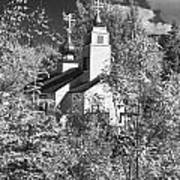 Eklutna Church Art Print