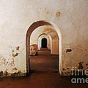 El Morro Fort Barracks Arched Doorways San Juan Puerto Rico Prints Art Print