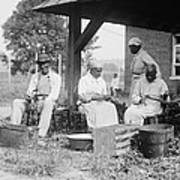Elderly African Americans Who Were Once Print by Everett