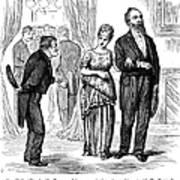 Election Cartoon, 1877 Art Print by Granger