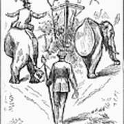 Election Cartoon, 1884 Art Print