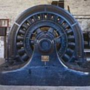 Electric Generator In The Folsom Art Print by Everett