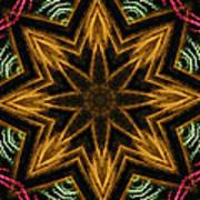 Electric Mandala 7 Art Print