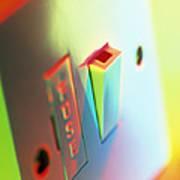 Electric Switch Art Print