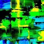 Electromagnetic Field Art Print