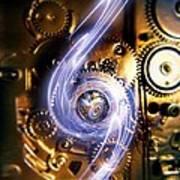 Electromechanics, Conceptual Image Art Print