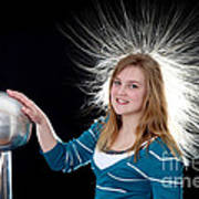Electrostatic Generator, 7 Of 8 Art Print
