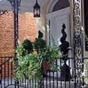 Elegant Entrance Art Print