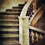 Elegant Staircase Art Print